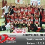 Juniorinnen B sind Schweizermeister !